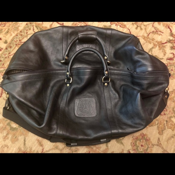 dc9c86015 Ghurka Handbags - Ghurka cavalier III 98 large black leather duffle